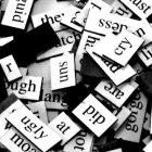 word magnets for fridge poetry
