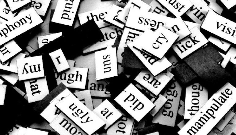 word magnets for fridge poetry