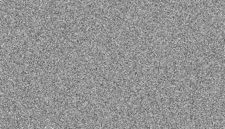 visualization of white noise, white and grey mottled