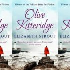 Olive Kitteridge cover in a repeated pattern