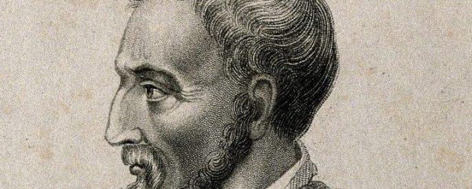 engraving of Girolamo Cardano