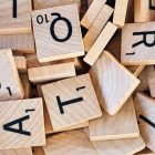 pile of wooden Scrabble letters