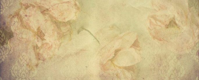 vintage rose stationary