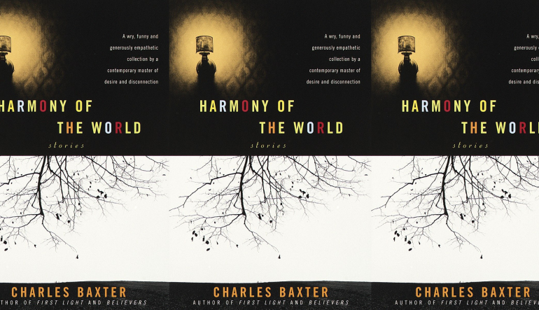 Harmony of the World cover in a repeated pattern