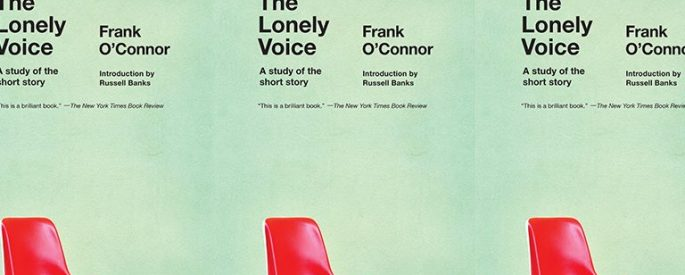 The Lonely Voice cover in a repeated pattern