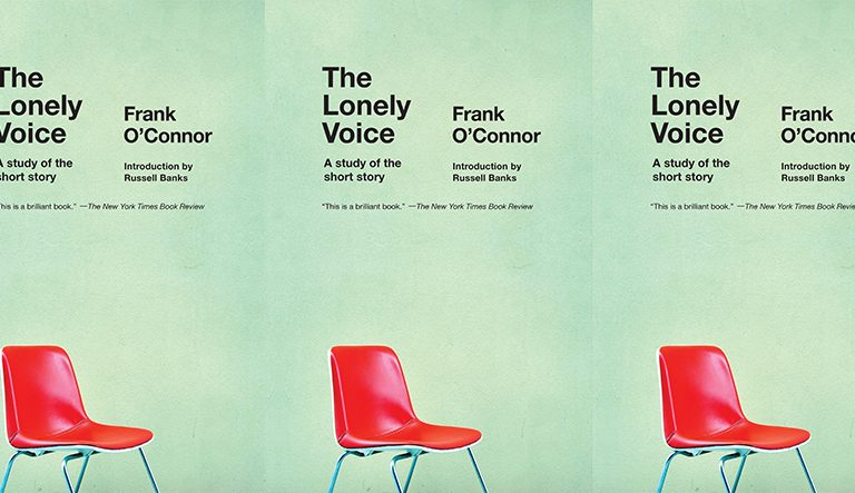 side by side series of the The Lonely Voice cover in a repeated pattern