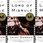 Lord of Misrule cover in a repeated pattern