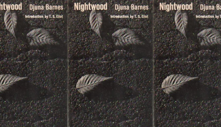 Nightwood cover in a repeated pattern