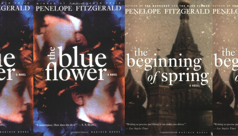 The Blue Flower cover and The Beginning of Spring cover