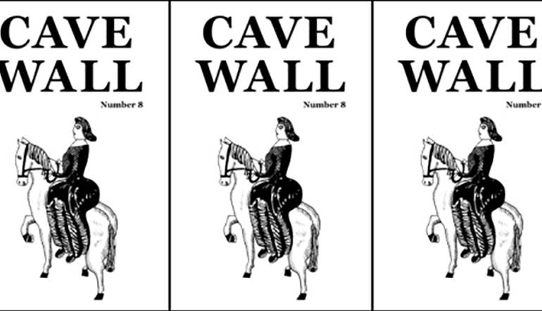 Cave Wall Number 8 cover in a repeated pattern