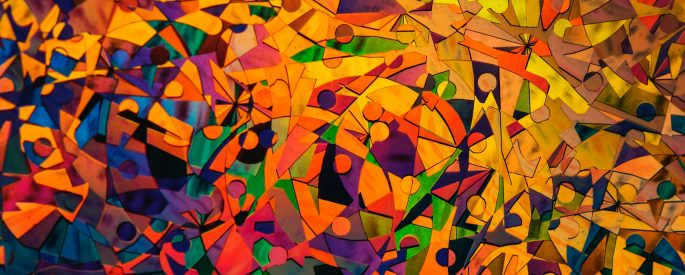 Image of geometric abstract art