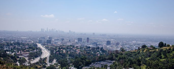 Arial photo of Los Angeles