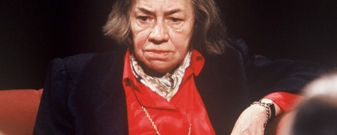 Photo of Patricia Highsmith on After Dark