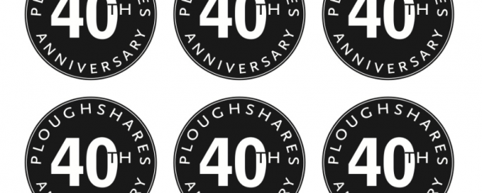 Ploughshares 40th anniversary seal