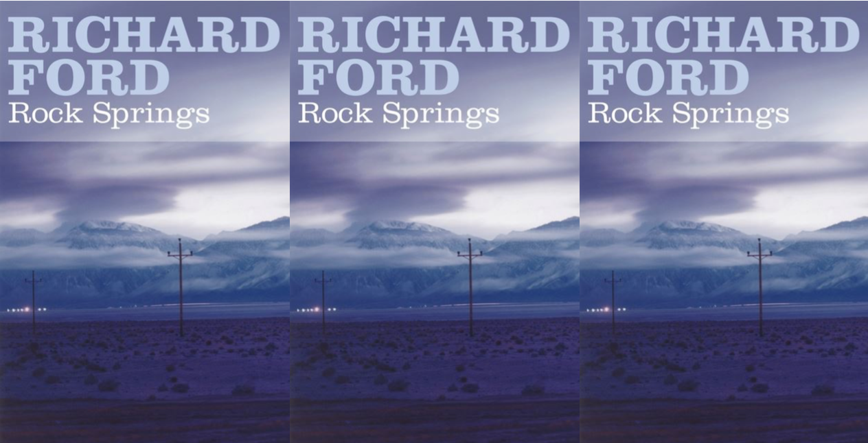 Cover image of Richard Ford's Rock Springs