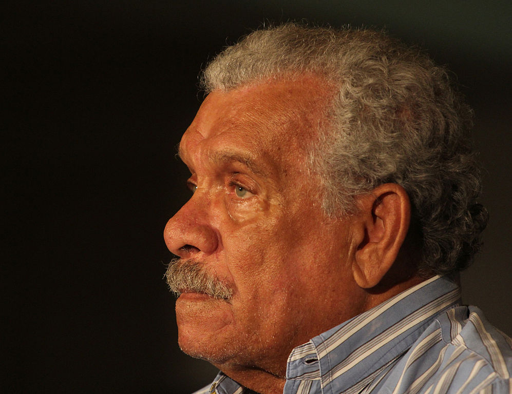 Profile photograph of Derek Walcott