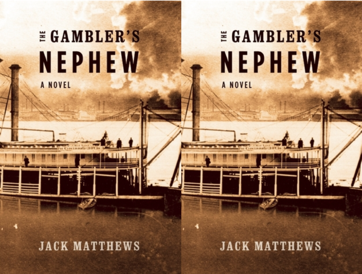 Cover art for Jack Matthews' The Gambler's Nephew
