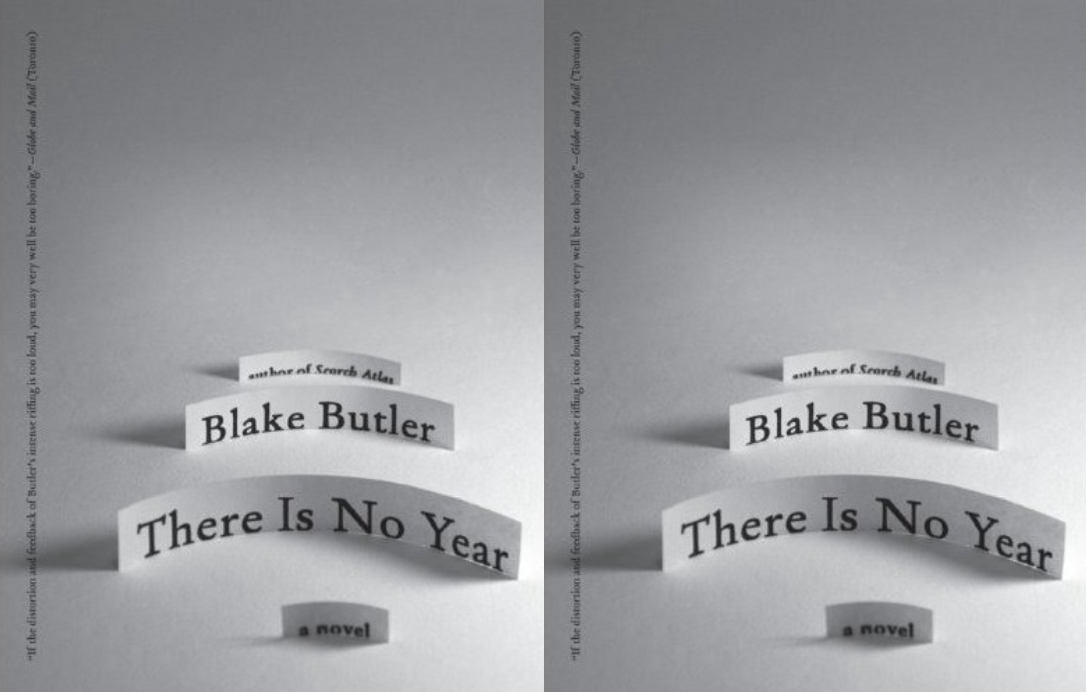 Cover art for Blake Butler's There Is No Year