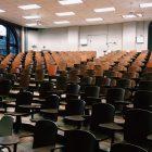 Photo of an empty auditorium