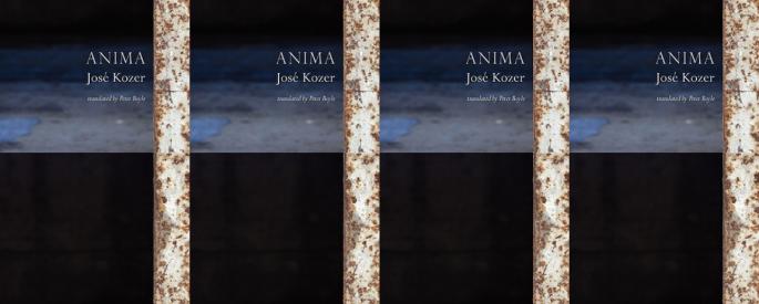 Cover art for Jose Kozer's Anima