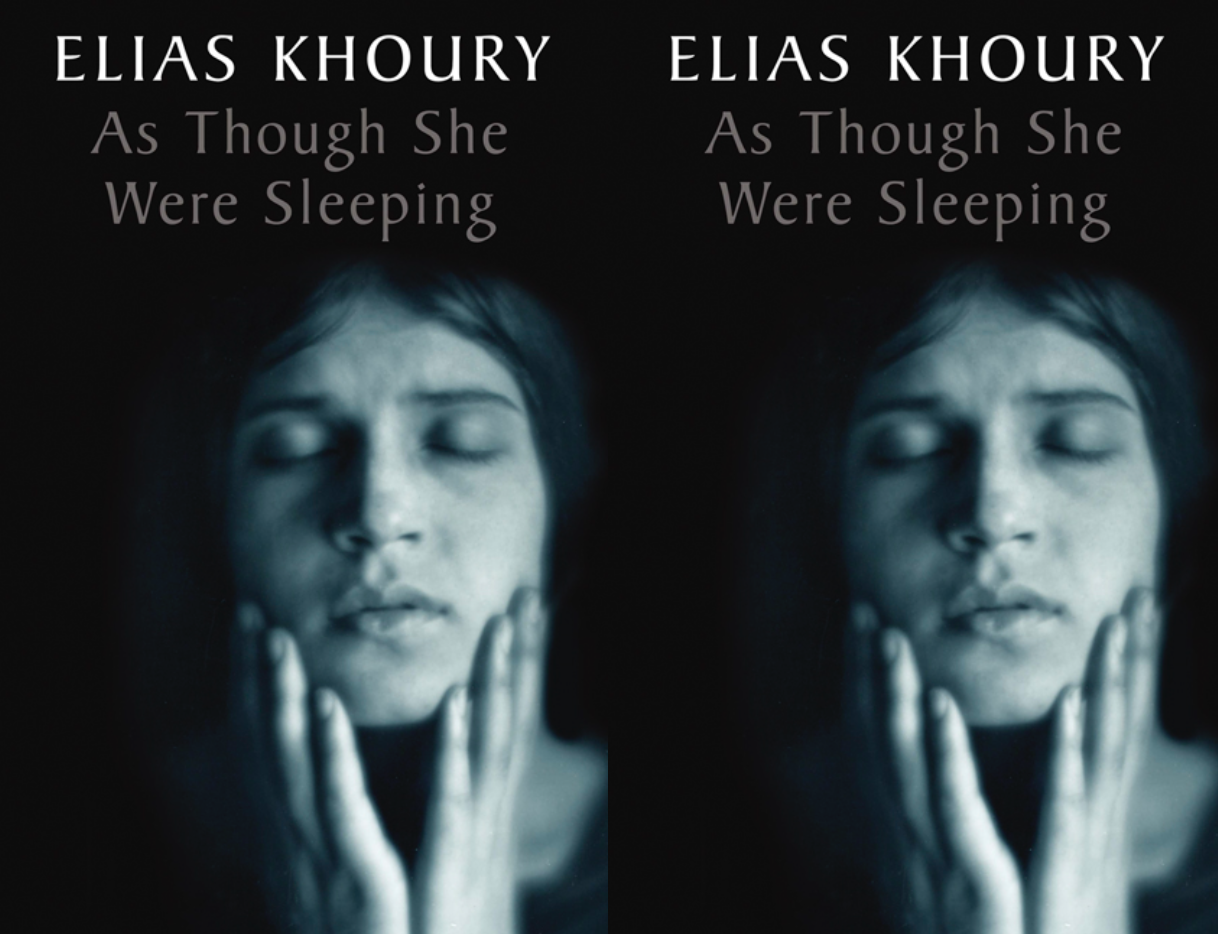 Cover art for As Though She Were Sleeping by Elias Khoury