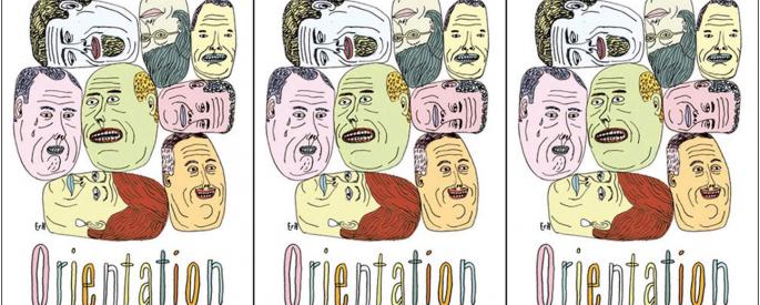 Cover art for Daniel Orozco's Orientation