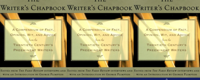 Cover art of George Plimpton's The Writer's Chapbook