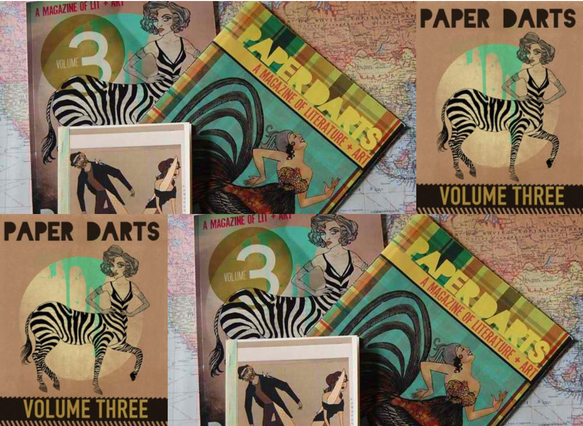 Cover art for Paper Darts literary magazine