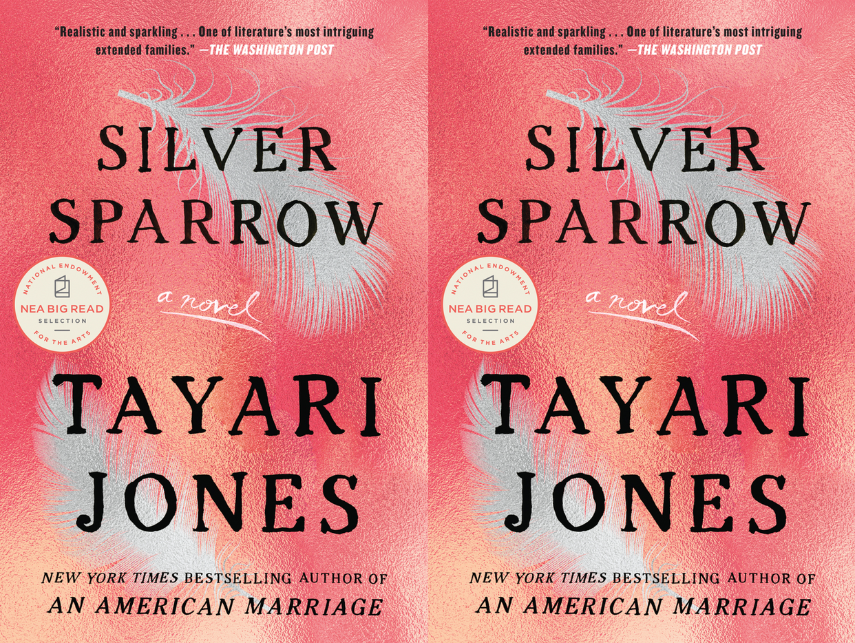 Cover art for Silver Sparrow by Tayari Jones