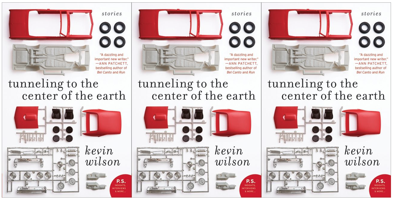 Cover art for Tunneling to the Center of the Earth by Kevin Wilson