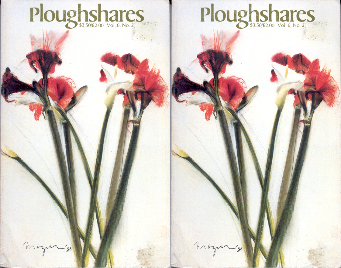 Cover art for Ploughshares Vol 6 No 2