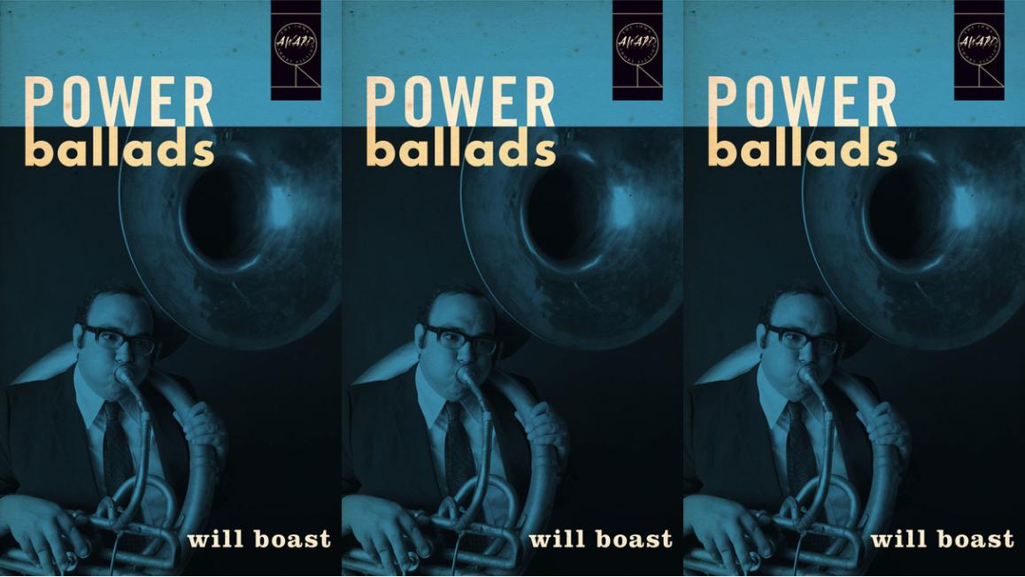 Cover art for Will Boast's Power Ballads