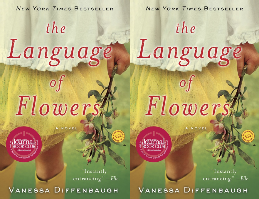 The cover art of The Language of Flowers by Vanessa Diffenbaugh
