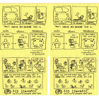 Image of a hand drawn storyboard depicting what Red Lemonade does as a company