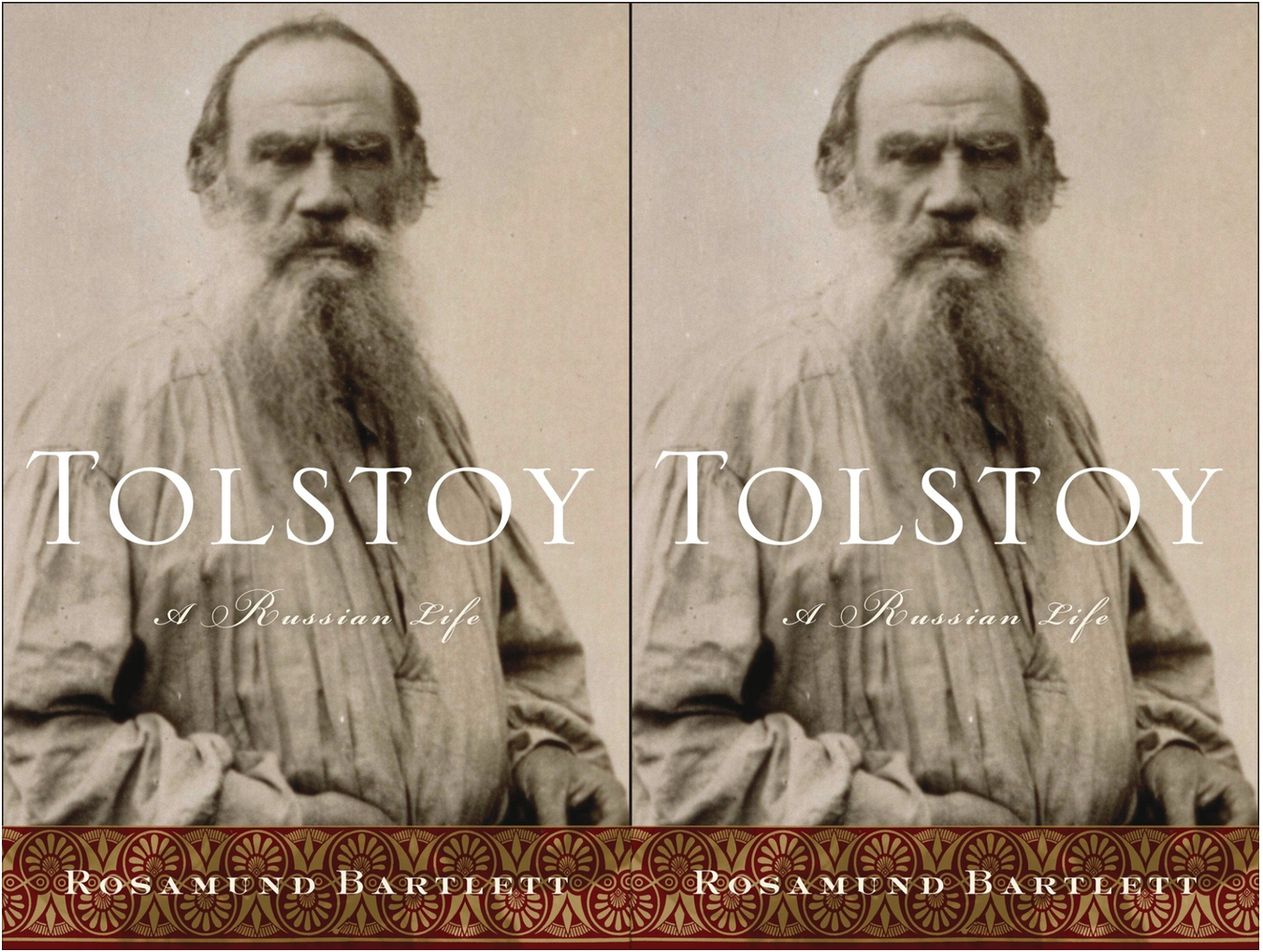 Cover art for Tolstoy A Russian Life by Rosamund Bartlett