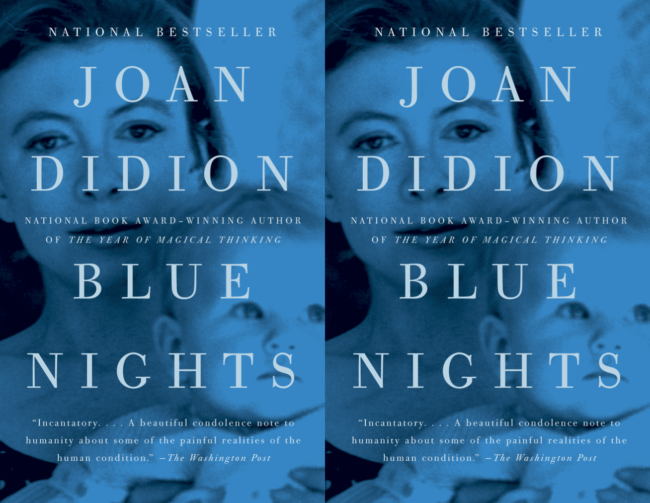 Cover art for Blue Nights by Joan Didion