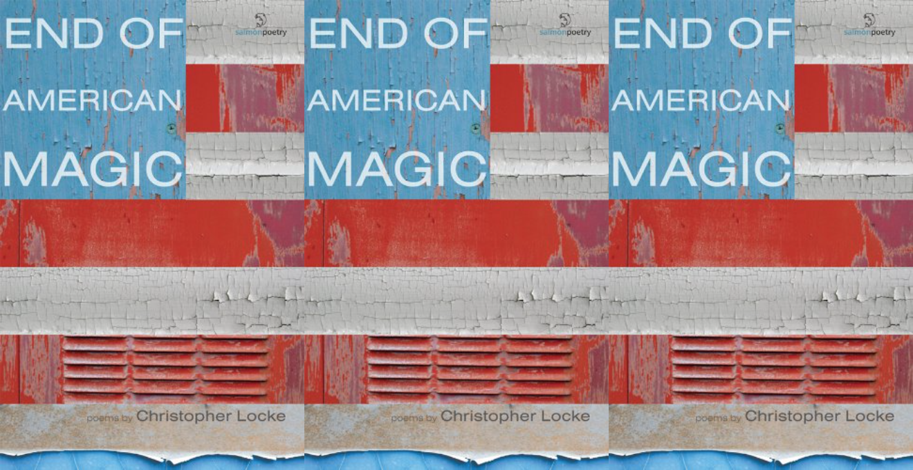 Cover art for End of American Magic by Christopher Locke