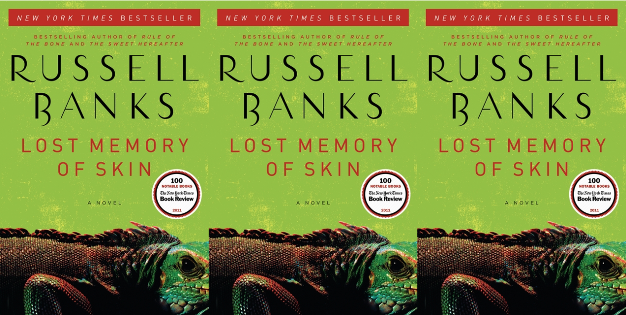 Cover art for Lost Memory of Skin by Russel Banks