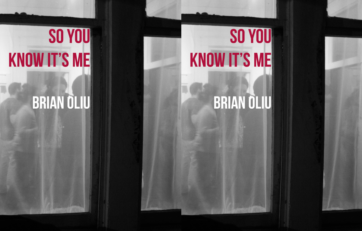 Cover art for So You Know It's Me by Brian Loiu