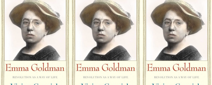 Cover art for Emma Goldman: Revolution as a Way of Life by Vivian Gornick
