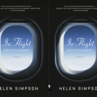 Cover art for In-Flight Entertainment by Helen Simpson