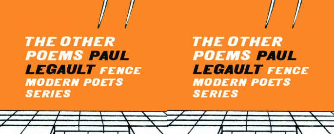 Cover art for The Other Poems by Paul Legault