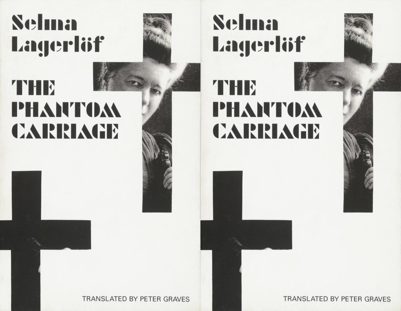 Cover art for The Phantom Carriage by Selma Lagerlof