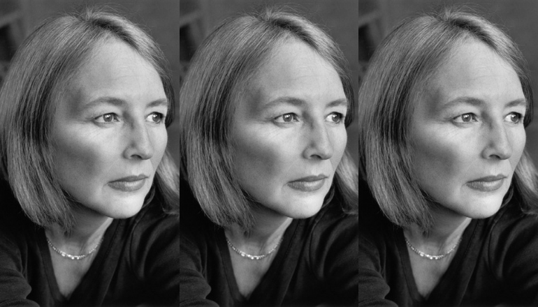 Three photos of the author and advocate Deborah Clearman side-by-side.