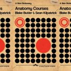 side by side series of the cover of Anatomy Courses