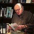 photo of John Ashbery reading