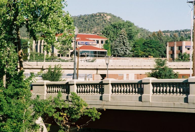 an image of the Santa Fe Trail bridge