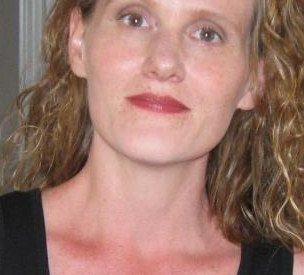 portrait of the writer Liz Kay