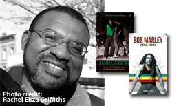 photo of Kwame Senu Neville Daw along with a few of his books