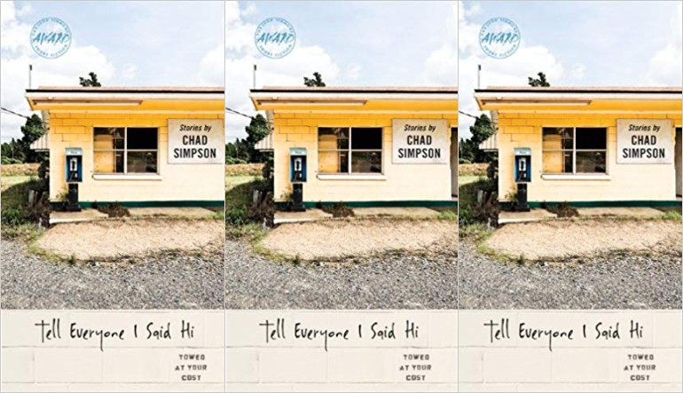 side by side series of the cover of Tell Everyone I said Hi